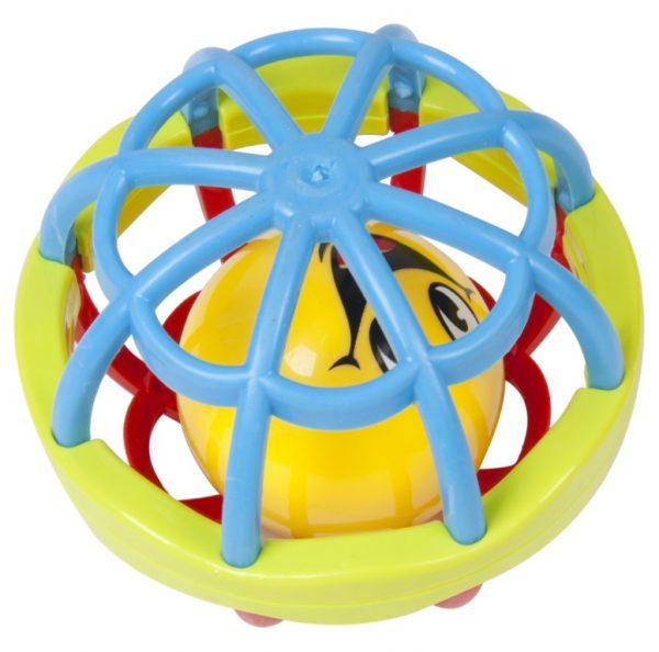 Interaktivna zvečka loptica