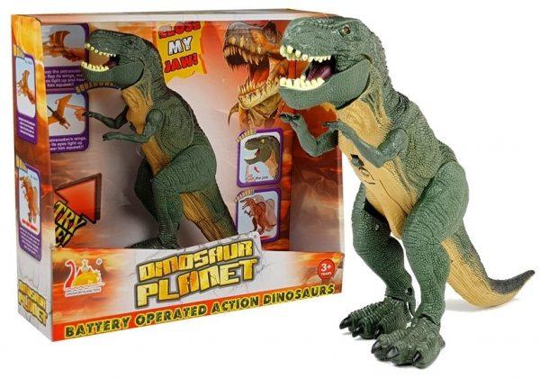 Dinosaur Tyrannosaurus Rex na baterije
