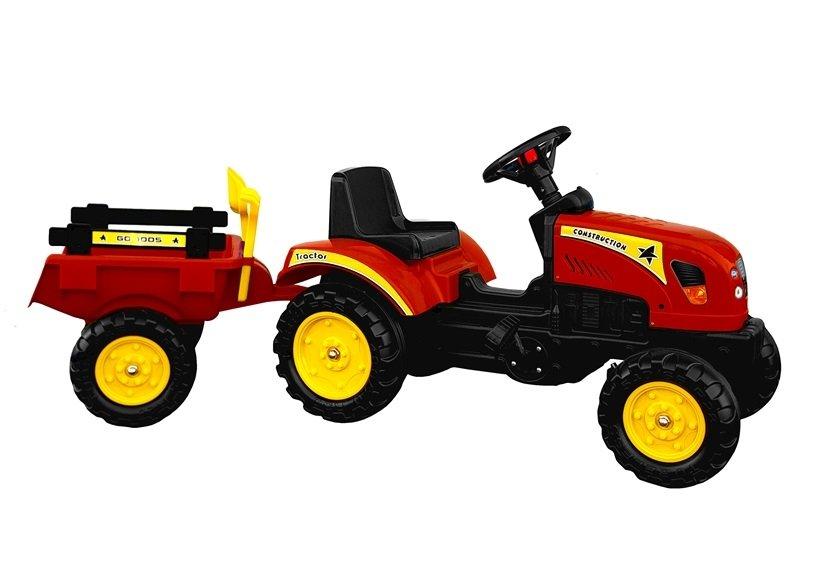 Branson Traktor crveni