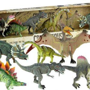 Set dinosaura s pokretnim elementima