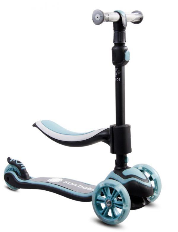 3u1 - bicikl za ravnotežu, romobil i Flash skejtbord